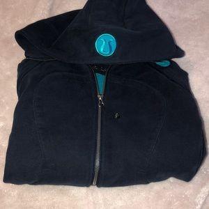 Lululemon baby blue women's scuba jacket